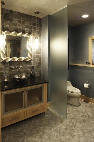 美式效果图大全设计卫生间效果