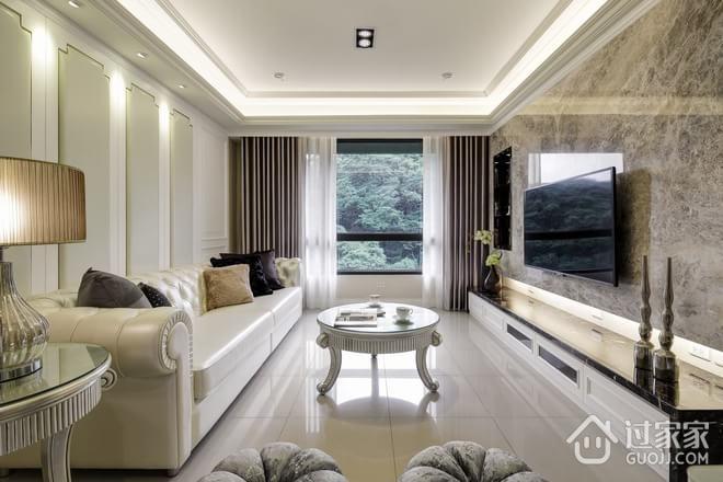 89平新古典两居室欣赏