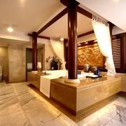 奢华卫生间浴缸效果图