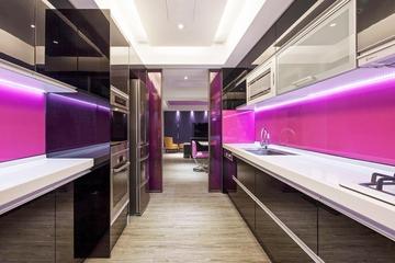 112平浪漫简约住宅欣赏厨房