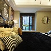 奢华新古典风卧室飘窗