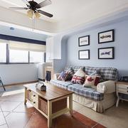 74平蓝色地中海住宅欣赏