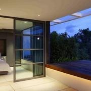 现代顶级度假别墅窗户