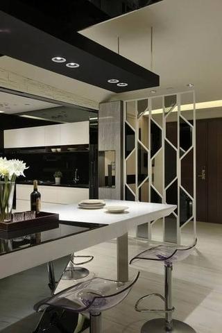 现代流畅空间设计欣赏吧台