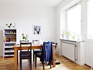 54平紧凑北欧两居室欣赏