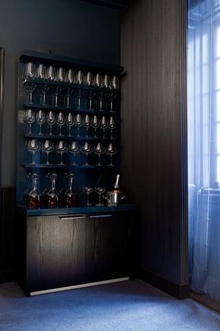 混搭风格别墅设计套图酒柜设计