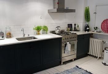 106平白色宜家住宅欣赏厨房