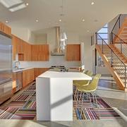 现代创意别墅套图厨房吧台设计