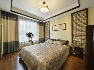 121平东南亚风三居欣赏卧室吊顶