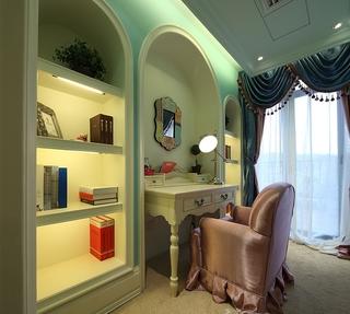 美式高品质住宅欣赏书房设计
