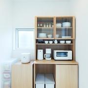 117平日式风格别墅欣赏厨房陈设