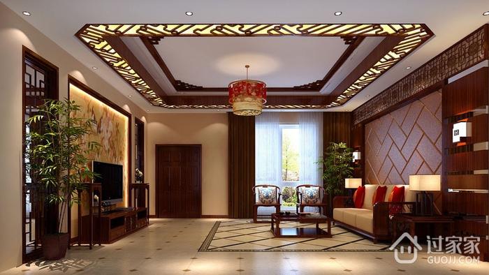 雅致新中式住宅三居室欣赏