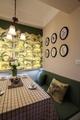 83平简约温馨三居欣赏餐厅设计