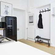 白色北欧单身住宅欣赏厨房橱柜