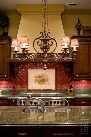 美式奢华别墅装饰赏析厨房效果