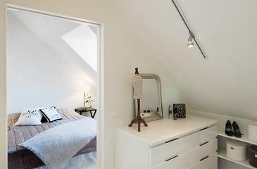 宜家风格复式装饰效果图卧室