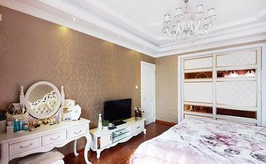 130平奢华欧式大宅欣赏卧室局部