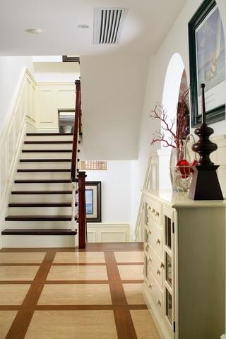 美式乡村楼梯