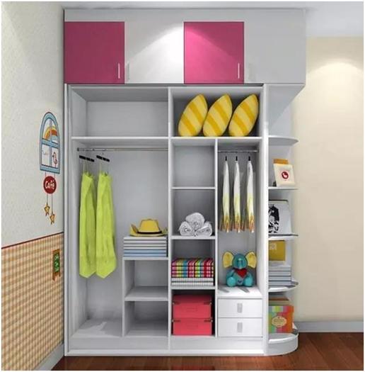 衣柜的实用性和大小没有关系,这样分区收纳更有效率
