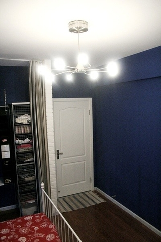 宜家风格住宅套图欣赏卧室