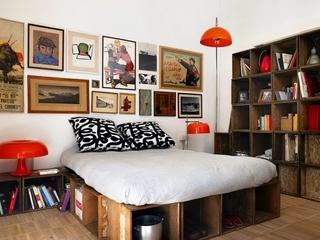 极具个性混搭别墅欣赏卧室