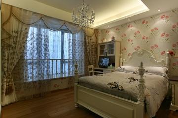 中式风家居效果客房