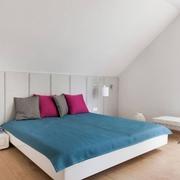 素静纯色简约两居室欣赏卧室