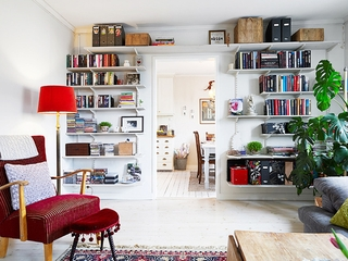 装饰田园两居室欣赏客厅效果