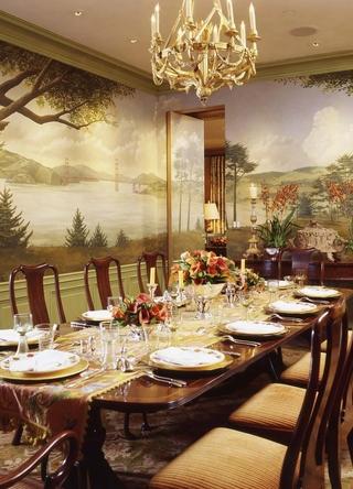豪华欧式风格套图西餐厅