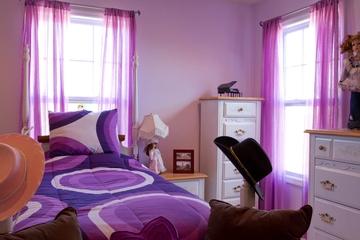 新古典住宅风格效果赏析卧室陈设