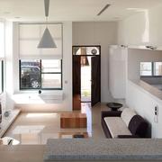 日式淡雅出彩复式欣赏客厅全景