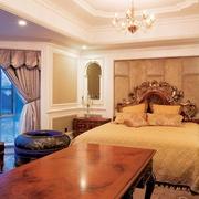 新古典别墅效果图主卧室