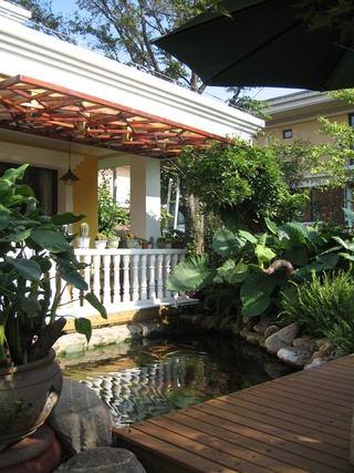 花园休息台