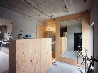日式极简毛坯设计欣赏客厅陈设