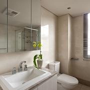 115平现代三口之家欣赏卫生间