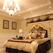 美式内敛的奢华效果图卧室摆件