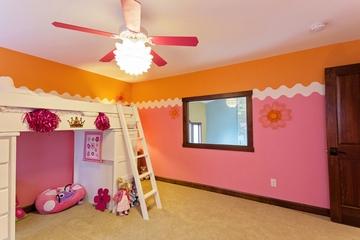 混搭风格效果图大全赏析儿童房设计