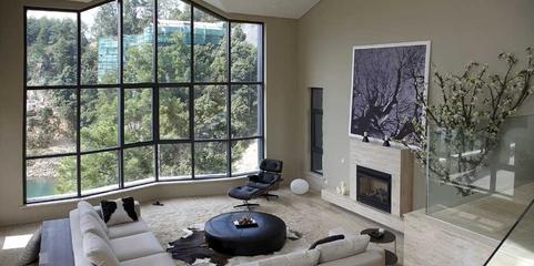 白色经典现代别墅欣赏