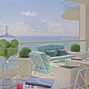梦幻地中海风格住宅欣赏阳台