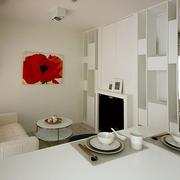 简约小户型设计效果图客厅