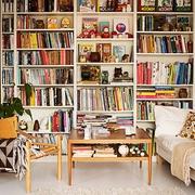 书卷气息 个性书房书架摆放图