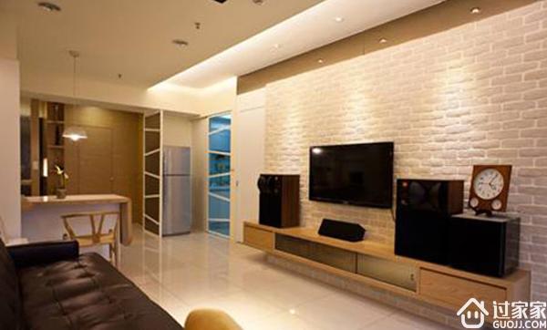 不同的电视背景墙的设计定位,打造不同的电视背景墙款式