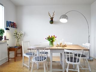 43平宜家单身公寓欣赏餐厅