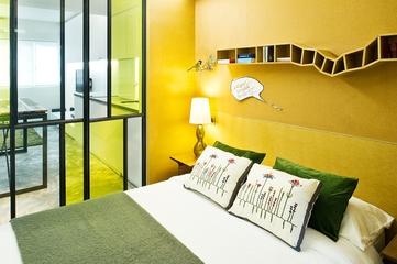 37平现代风住宅欣赏卧室灯
