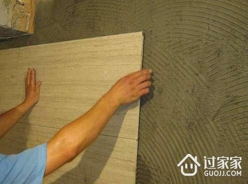 最详细的有釉砖施工工艺分享