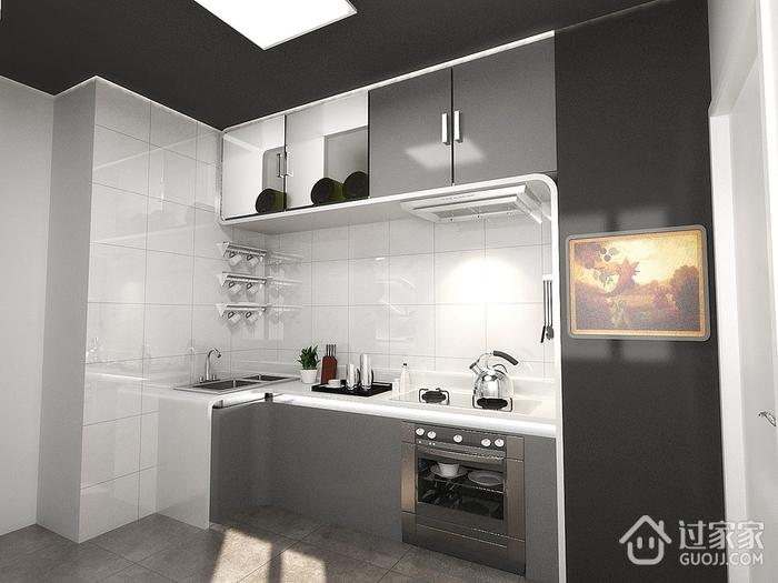 97平现代住宅欣赏厨房橱柜