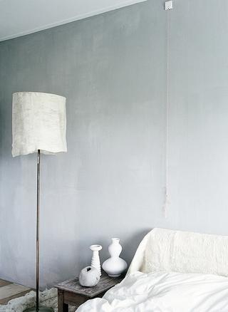 青灰色简洁一居室欣赏