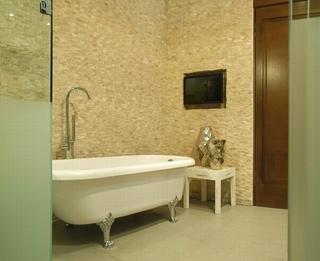 128平现代复式住宅欣赏卫生间局部