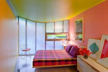 色彩丰富混搭小屋欣赏卧室设计