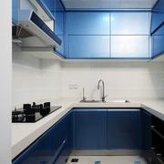 现代设计三居效果图欣赏厨房